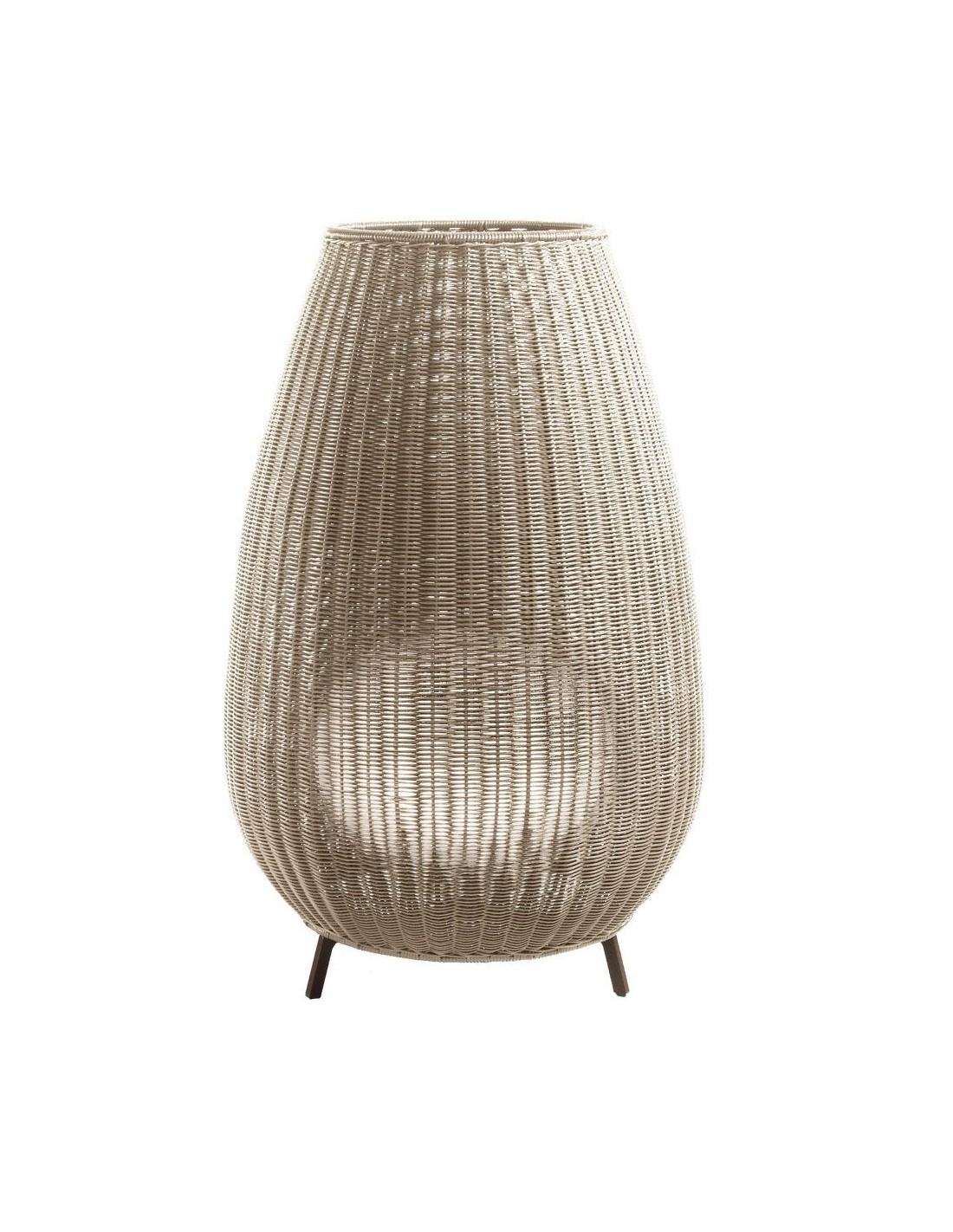 Lampe à poser Amphora 01 Beige de chez BOVER