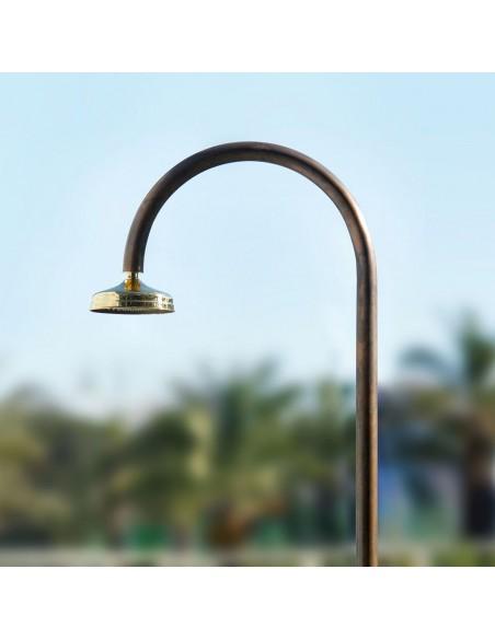 douche Origo Rame détails acier inoxydable de très haute qualité par la marque italienne Fontealta