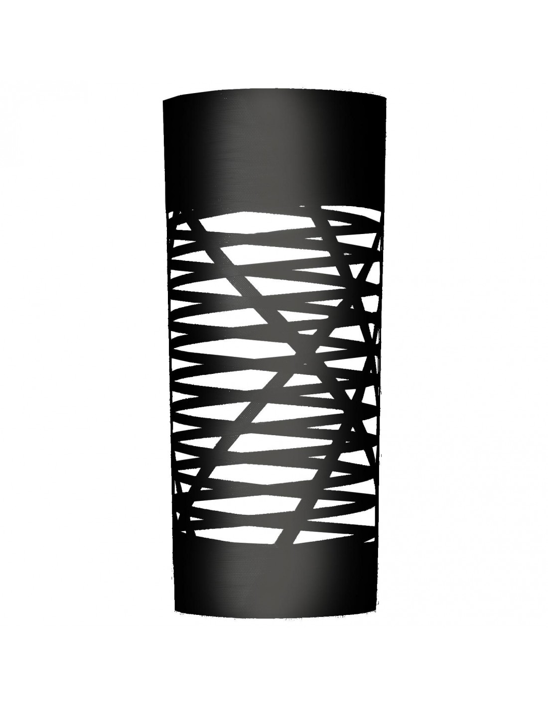 applique tress grande de couleur noir du designer Marc Sadler pour la marque Foscarini chez Valente Design