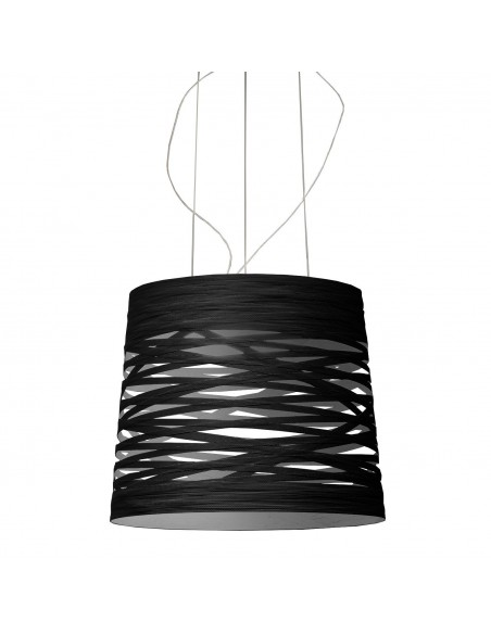 Suspension Tress Grande LED foscarini noire