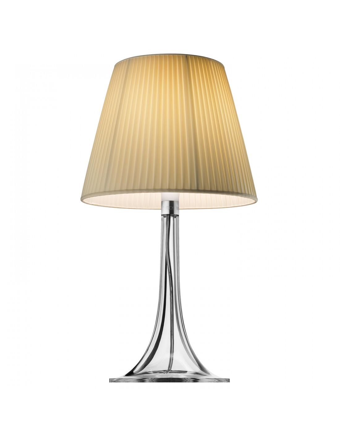 Lampe De Table Miss K Tissus De Flos