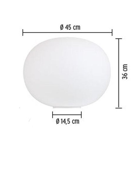 Lampe de table Glo-Ball Basic 2 plan