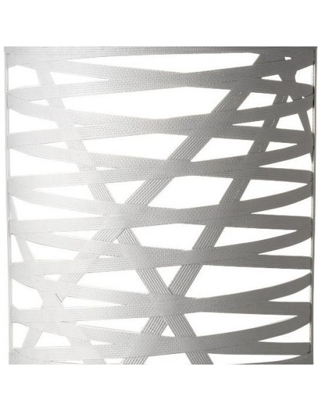 détails de l'applique tress grande de couleur blanche du designer Marc Sadler pour la marque Foscarini chez Valente Design