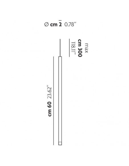 Suspension A-Tube Nano medium blanc