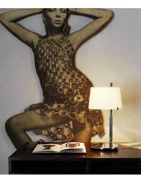 Lampe de table Passion Small mise en scène chambre Fontana Arte