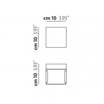 Applique Laser Cube 10x10