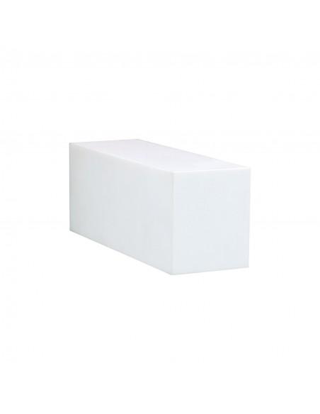 Applique extérieure TWIN haut ou bas de couleur blanche pour la marque Royal Botania - Valente Design