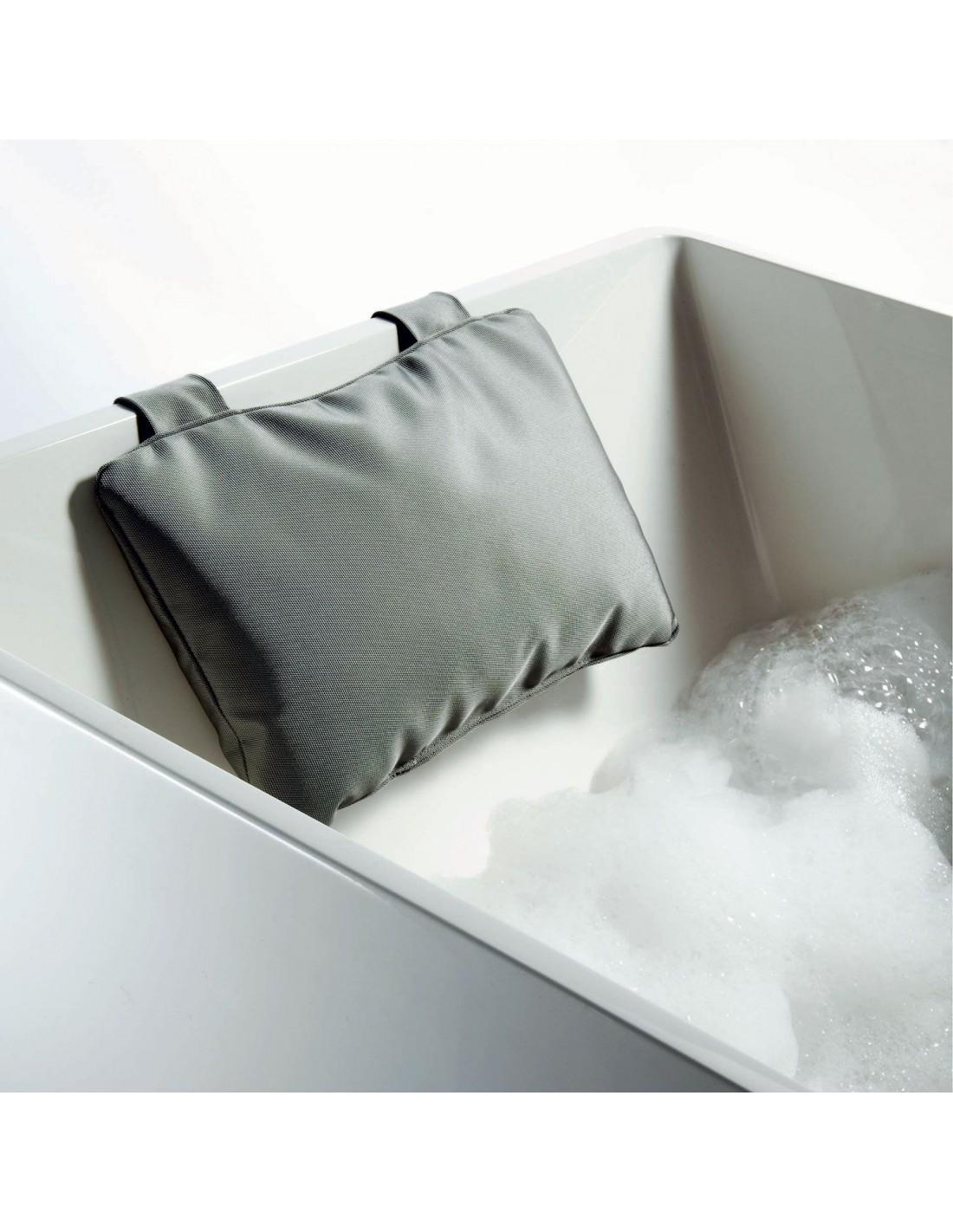 Coussin pour baignoire gris Decor Walther