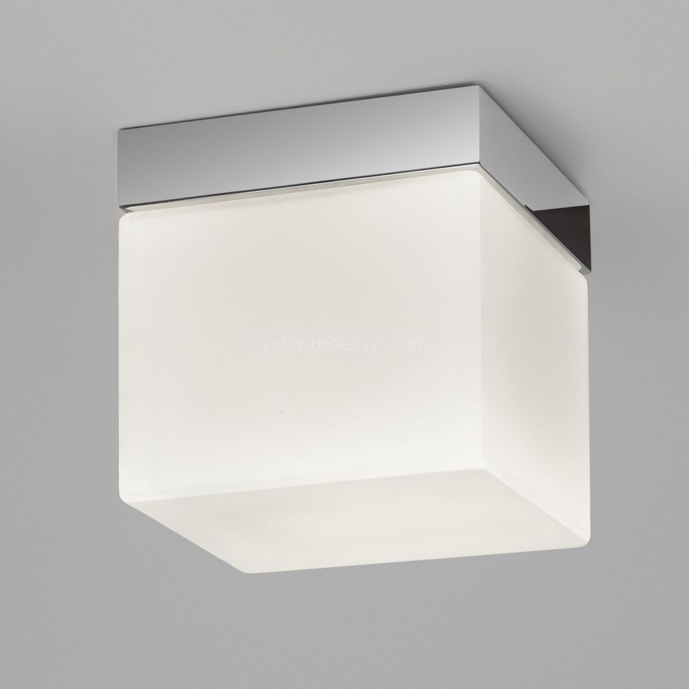 Plafonnier Sabino Square chrome details astro lighting