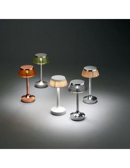lampe sans fil bon jour déclinaison collection de flos - Philippe Starck - Valente Design