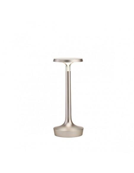 lampe sans fil bon jour chrome satiné de flos - Philippe Starck - Valente Design