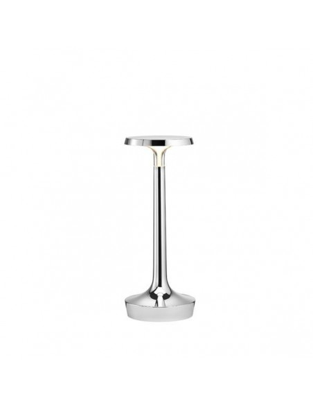 lampe sans fil bon chrome de flos - Philippe Starck - Valente Design