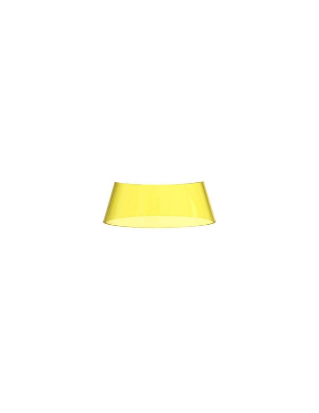 abat jour jaune pour lampe bon jour unplugged de flos. Black Bedroom Furniture Sets. Home Design Ideas