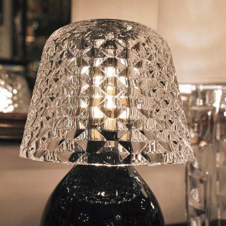 Abat-jour en cristal de la lampe Baby Candy Light de la marque Baccarat - Valente Design