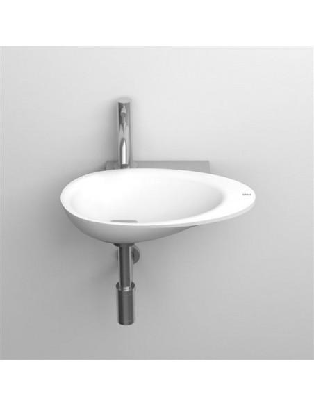 Console avec trou pour lave mains First pour la marque Clou