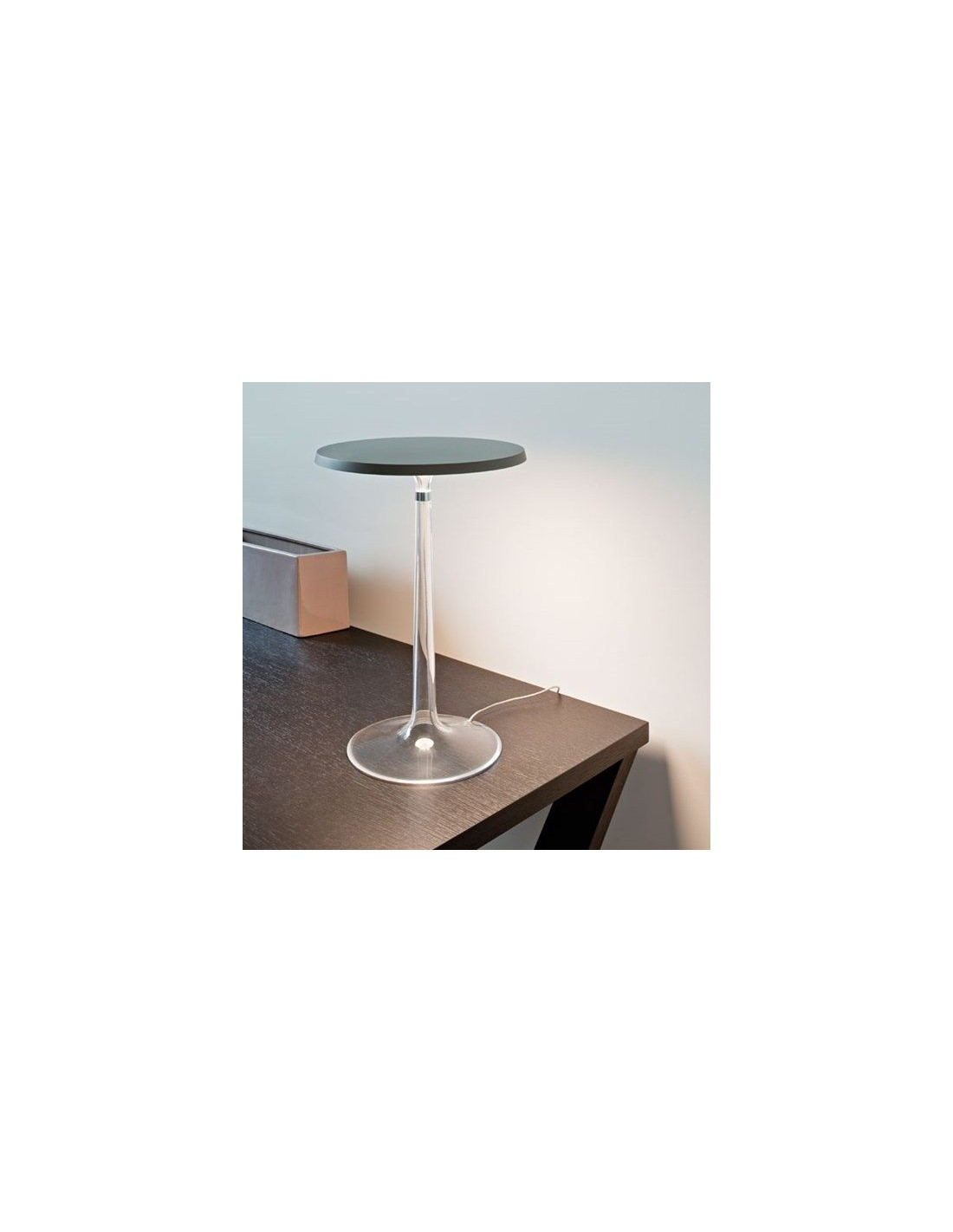 Lampe de table bon jour philippe starck de flos for Lampe de table rona