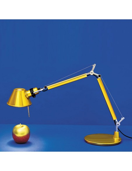 Lampe de table Tolomeo Micro Gold Artemide