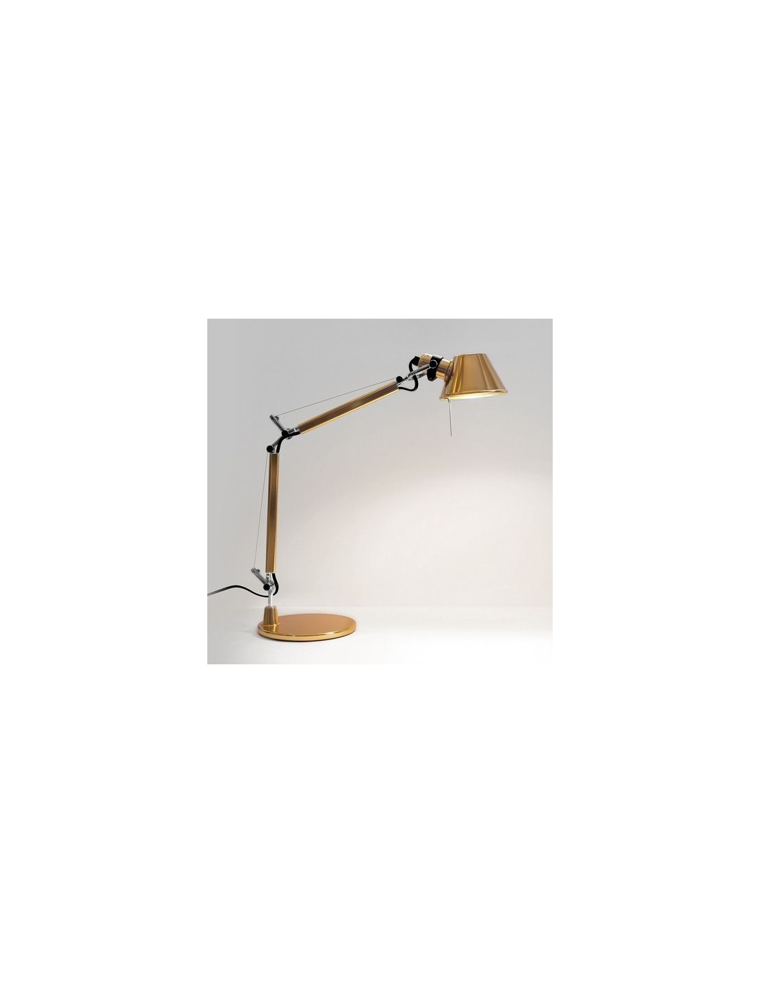 Lampe de table Tolomeo Micro Gold Artemide