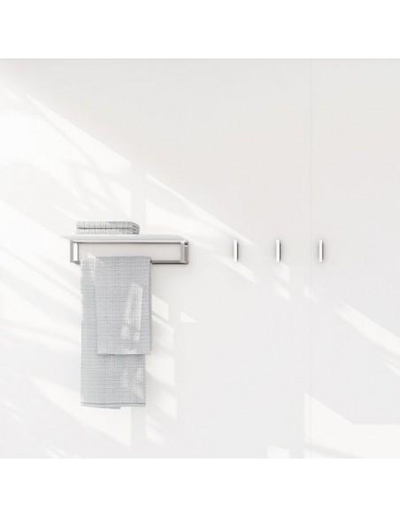 Porte serviette original 35 cm et porte produits the grid par la marque Cosmic.