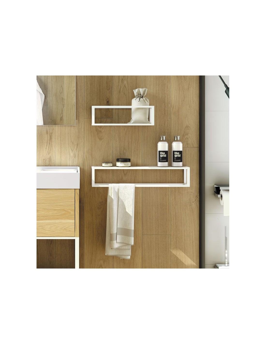 porte serviette 55 cm et porte produits the grid. Black Bedroom Furniture Sets. Home Design Ideas