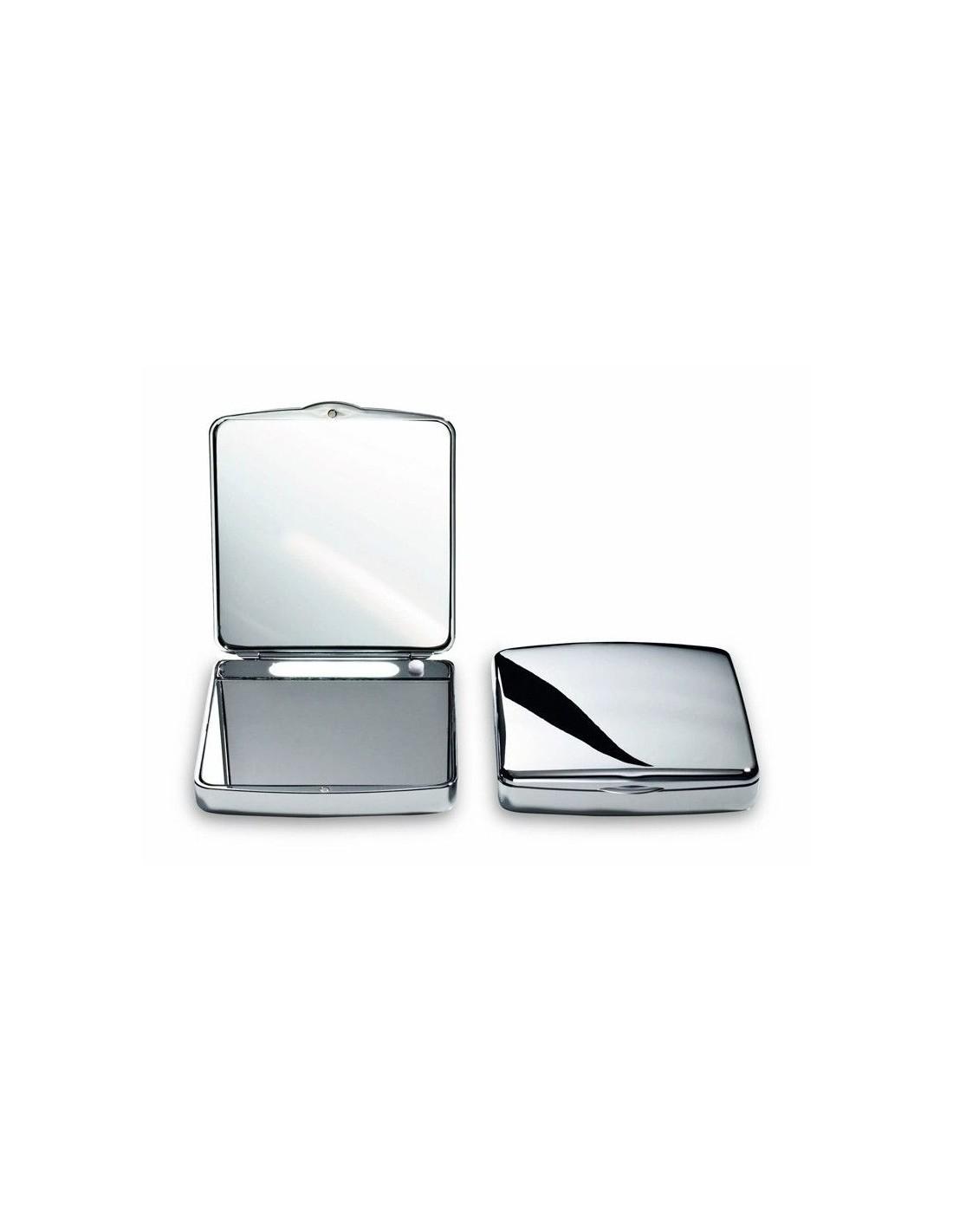 Miroir de poche grossissant éclairant Decor Walther