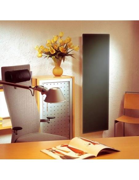 Radiateur Solaris vertical 45 1000W noir mat  la marque Fondis - Valente Design