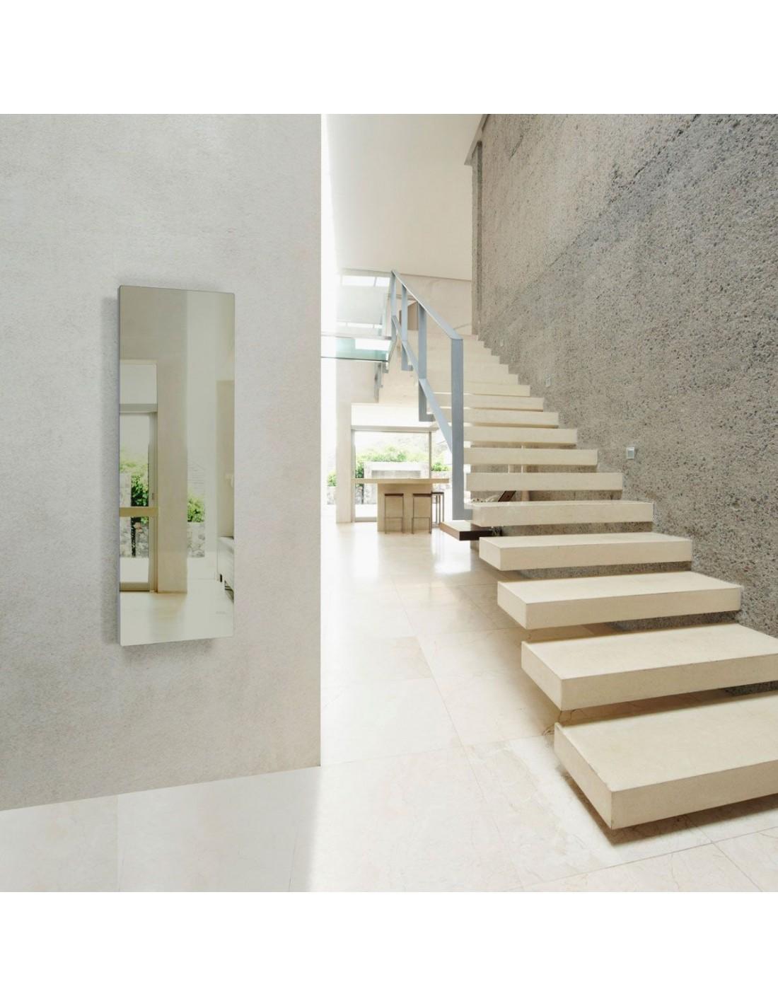 Radiateur Solaris vertical 45 1000W miroir de la marque Fondis - Valente Design