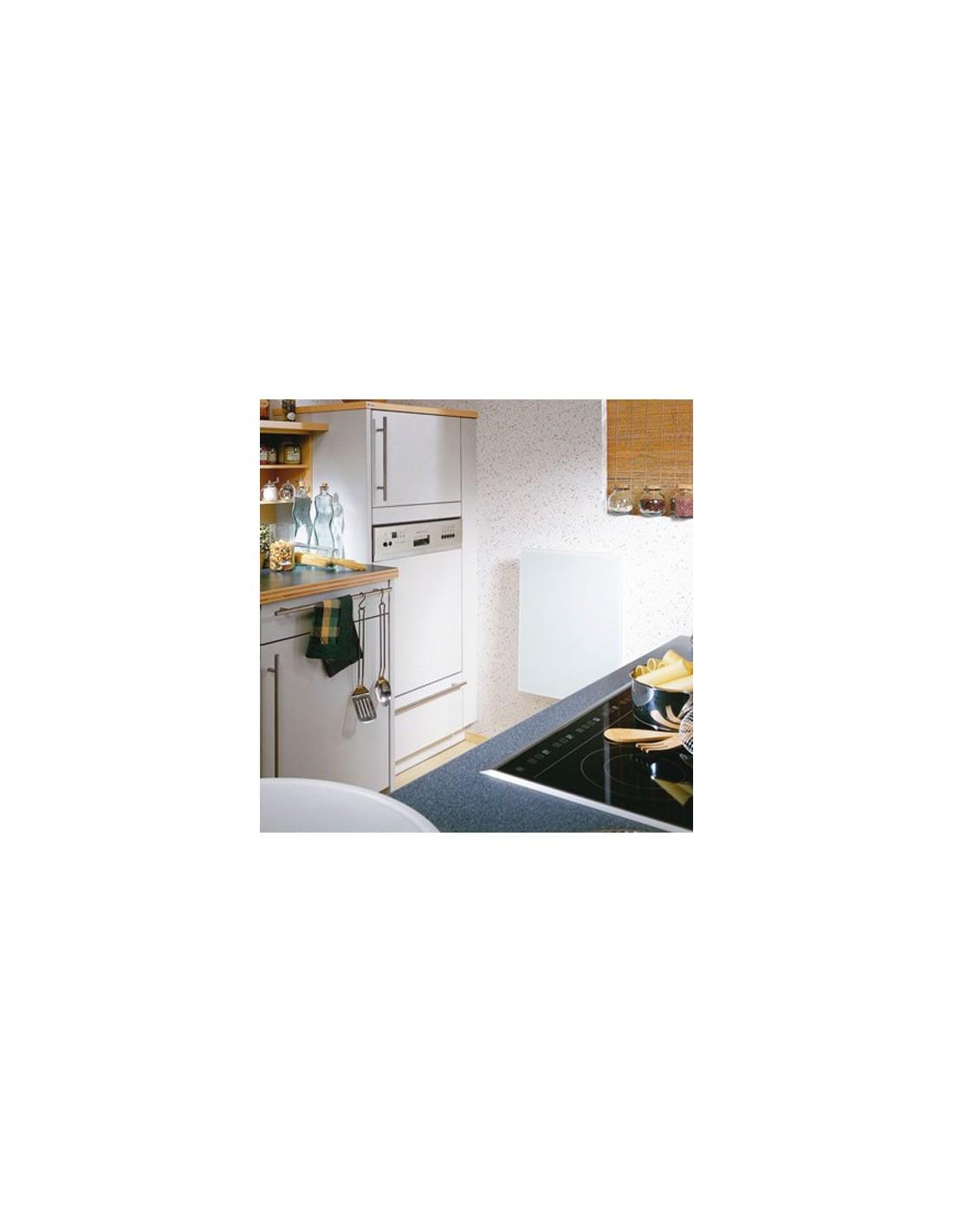 Radiateur Solaris blanc brillant 450W de la marque Fondis - Valente Design