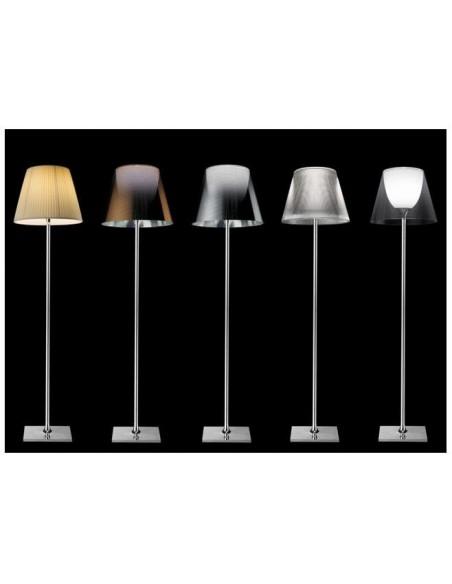 Nuancier des abat-jour pour le lampadaire Ktribe F2 - designer Philippe Starck - marque FLOS - revendeur Valente Design