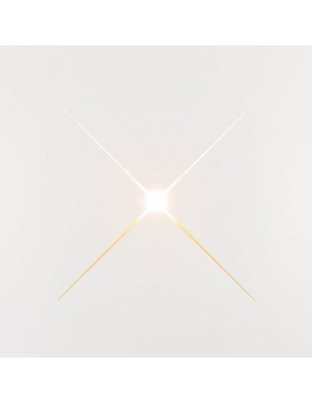 Plafonnier NAPOLI  intérieur blanc création de la marque Kinetura