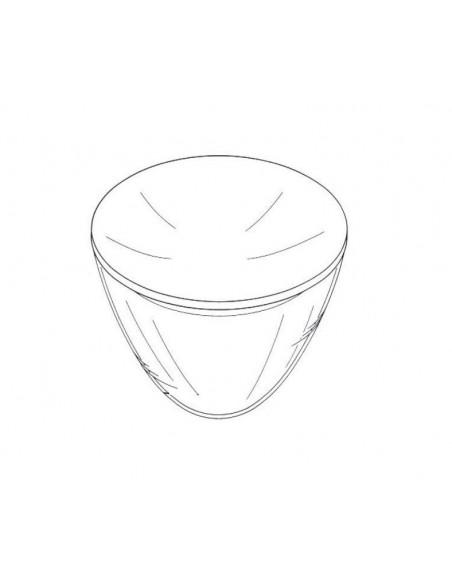remplacement verre Taccia schéma Flos