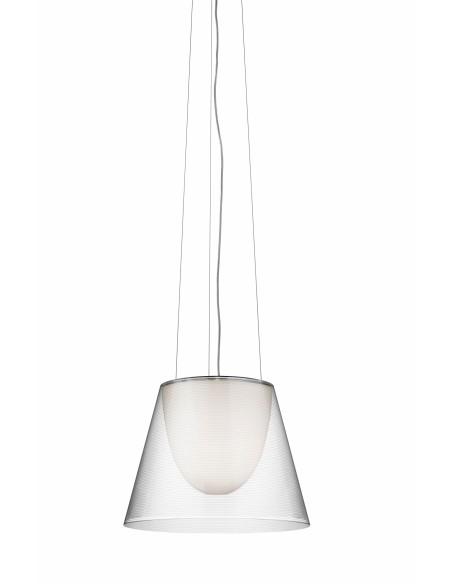 Suspension Ktribe S2 transparente de Philippe Starck pour Flos - Valente Design