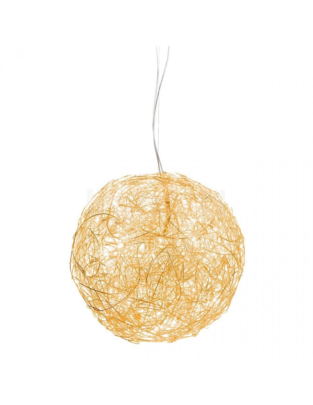 suspension fil de fer 50 cm anodis or marque italienne catellani smith. Black Bedroom Furniture Sets. Home Design Ideas