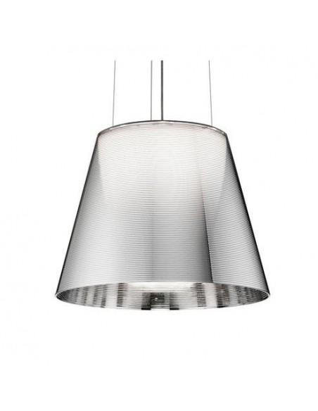 Suspension Ktribe S2 argentée de Philippe Starck pour Flos - Valente Design détails