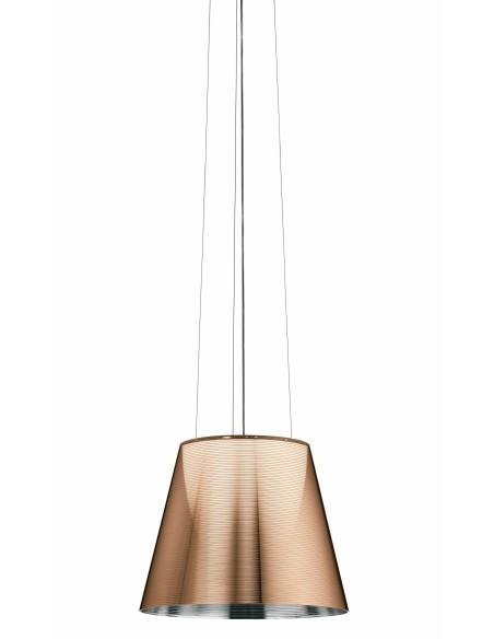Suspension Ktribe S2 bronze de Philippe Starck pour Flos - Valente Design