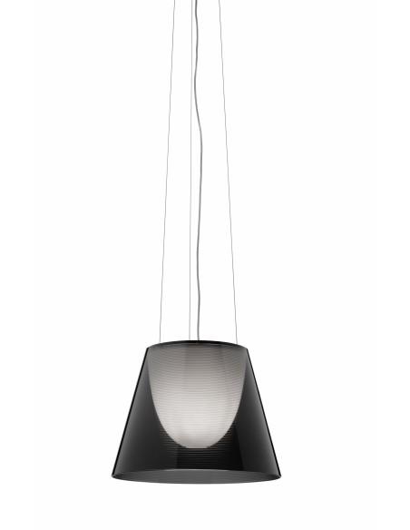 Suspension Ktribe S2 fumé de Philippe Starck pour Flos - Valente Design