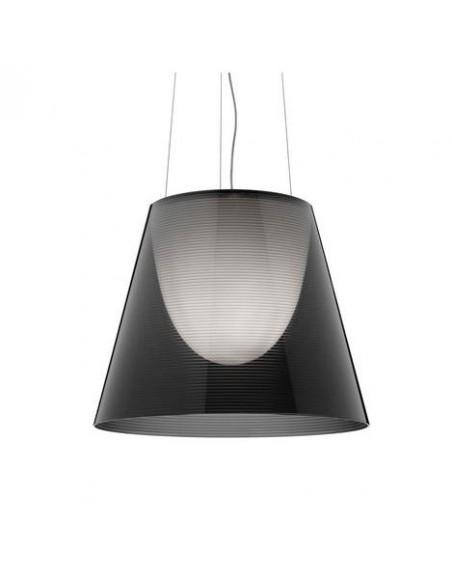 Zoom sur la suspension Ktribe S2 fumé de Philippe Starck pour Flos - Valente Design