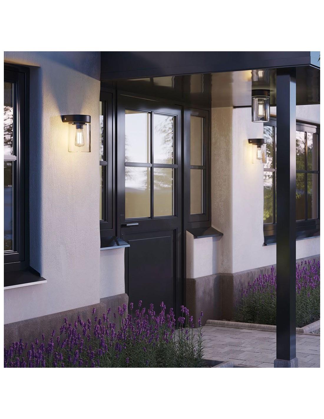 applique tesla ext rieure mise en situation luminaires royal botania. Black Bedroom Furniture Sets. Home Design Ideas