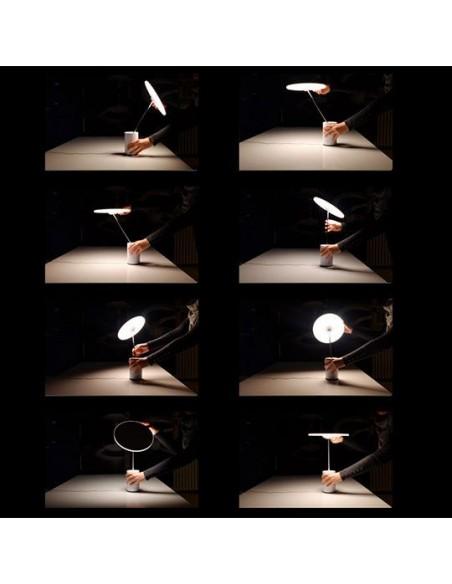 lampe bureau articulée mise en scène éclairage Artemide - Valente Design