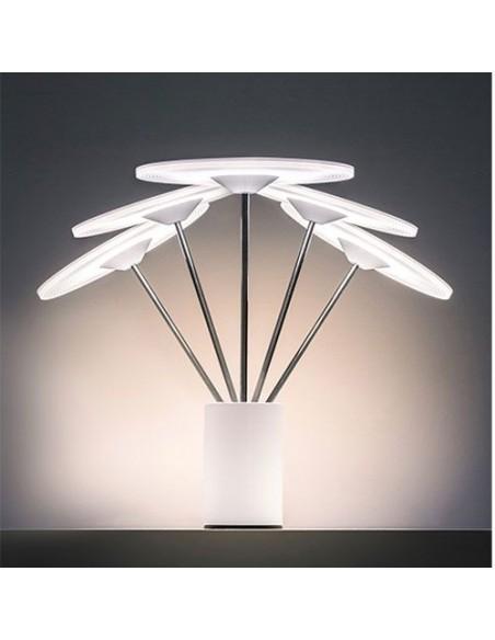 lampe  Artemide  articulée mise en scène éclairage