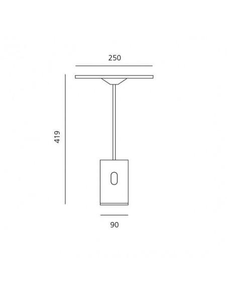 lampe articulée Artemide plan - Valente Design