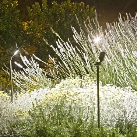 Spot Spiky sur piquet 100 cm mise en lumière de la marque Royal Botania - Valente Design