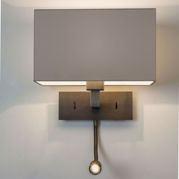 Applique Park Lane Grande LED Liseuse bronze