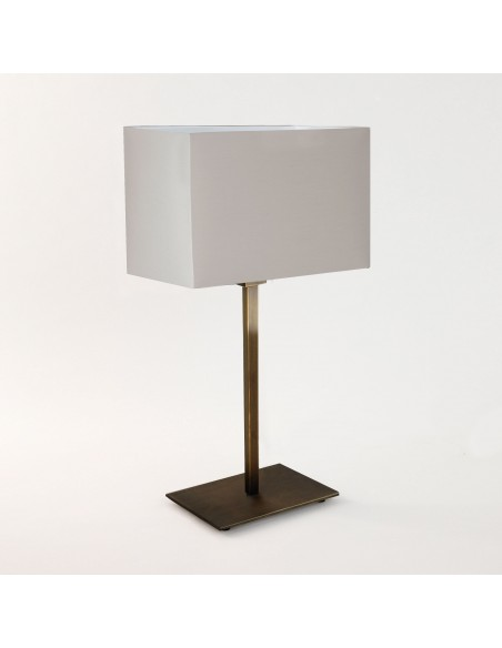 Lampe de table Park Lane finition Bronze et abat jour blanc  astro lighting