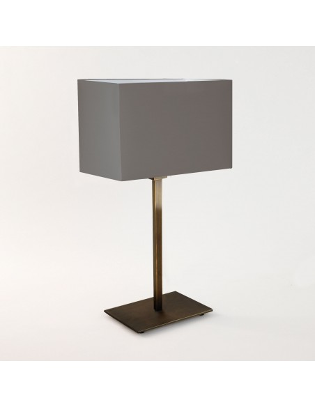 Lampe de table Park Lane finition Bronze et abat jour gris  astro lighting