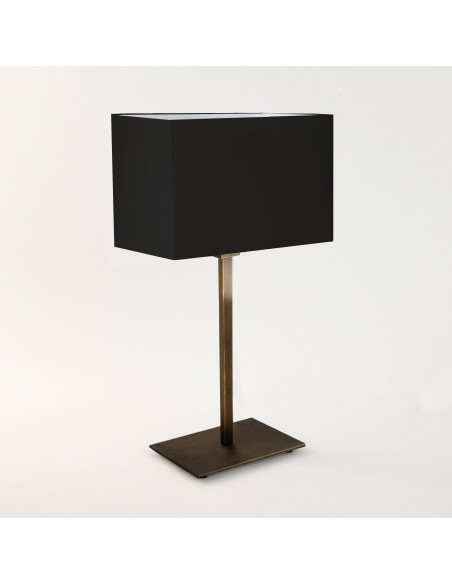 Lampe de table Park Lane finition Bronze et abat jour noir astro lighting
