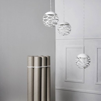 Suspension multiple kelly cluster 3 spheres en bouquet