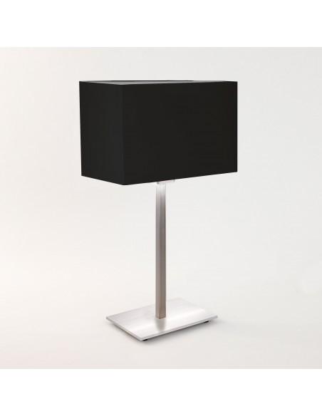 Lampe de table Park Lane finition nickel mat