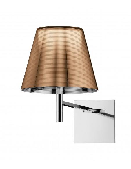Applique pour lampe Ktribe W de couleur bronze de Philippe Starck pour Flos - Valente Design
