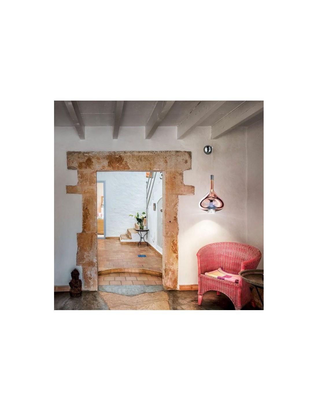pat re murale pour applique suspendue sky falll de studio italia design. Black Bedroom Furniture Sets. Home Design Ideas
